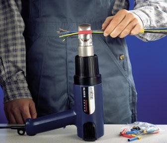 How do I install heat shrink tubing?