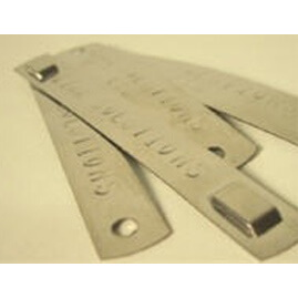 PL-STM Customized stainless steel identification markers