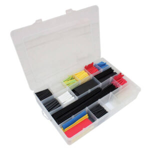 Heat shrink collection box