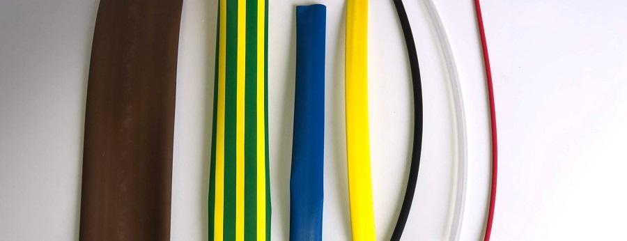 Thin wall heat shrink tubing